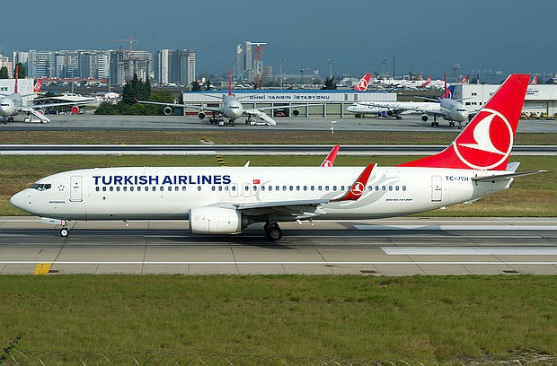 Boing 737 Turkish Airlines 620x408